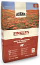 Acana Singles Limited Ingredient Diet Grain Free Beef and Pumpkin Dry Dog Food-4.5-lb-{L+x}