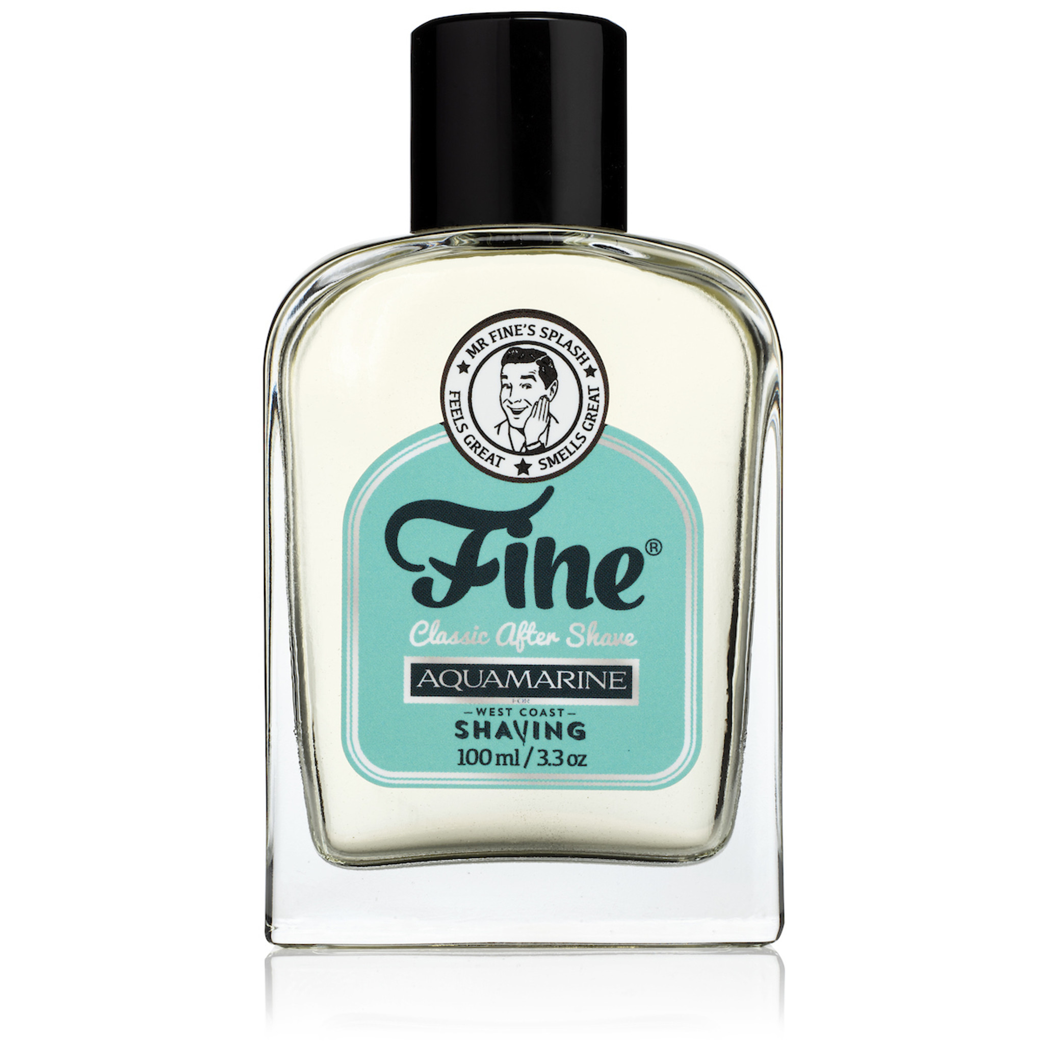 Fine Aquamarine Aftershave for West Coast Shaving
