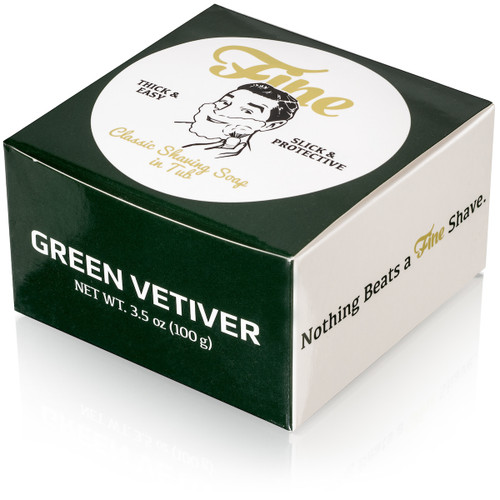Green Vetiver Classic Shaving Soap
