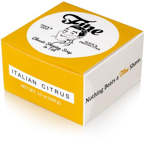Fine Italian Citrus Shaving Soap