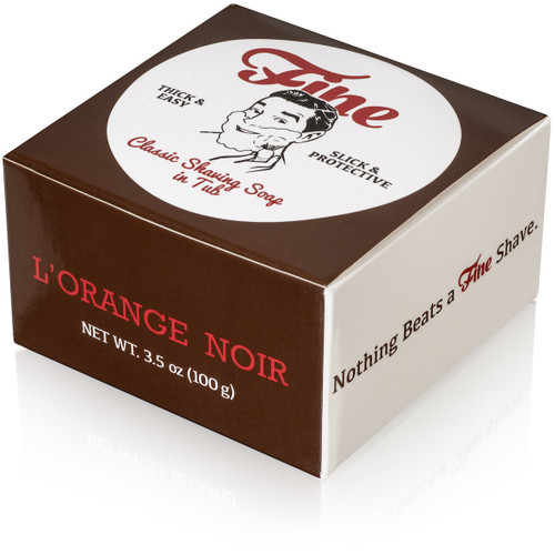 L'Orange Noir Classic Shaving Soap