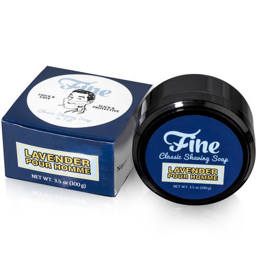 Lavender Pour Homme Classic Shaving Soap