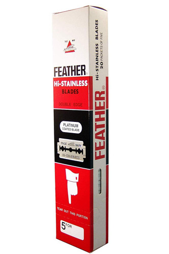Feather 100 DE Blade Sleeve