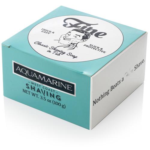 Fine Aquamarine Shaving Soap