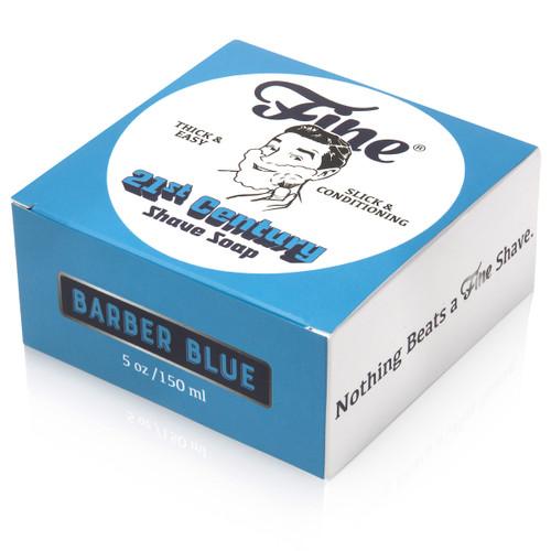 Fine Barber Blue Shaving Soap