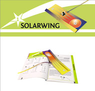 Free Download - Solar Wing Paper Plane template