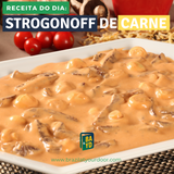 Receita da Semana: Strogonoff de Carne