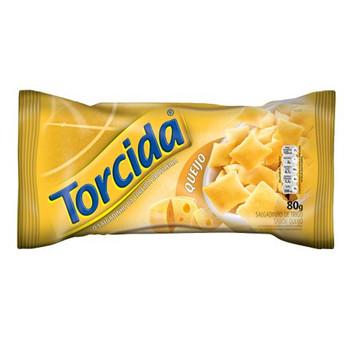 SALGADINHO TORCIDA QUEIJO