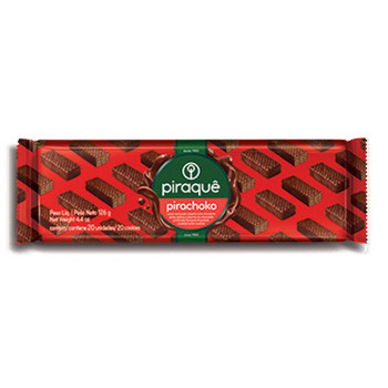 BISCOITO PIRACHOCO BIS CHOCOLATE PIRAQUE