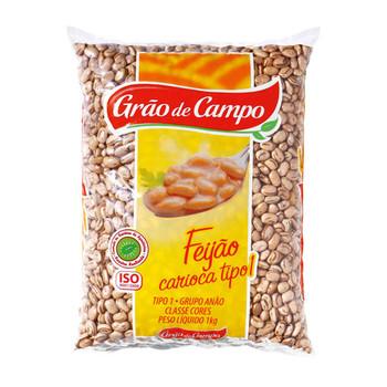 FEIJAO CARIOCA GRAO DE CAMPO 1KG