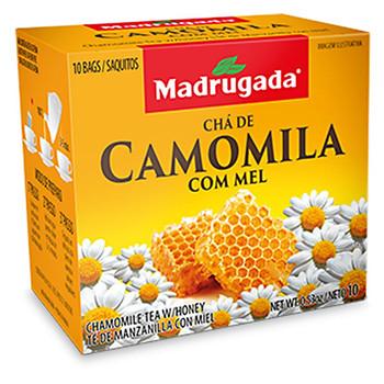 CHA DE CAMOMILA COM MEL MADRUGADA