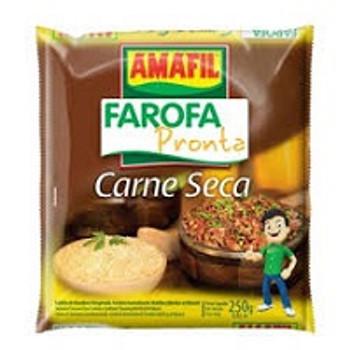 FAROFA PRONTA CARNE SECA AMAFIL