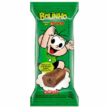 BOLINHO TURMA DA MONICA CHOCOLATE
