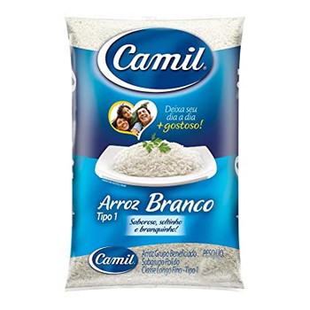 ARROZ BRANCO CAMIL 10LBS