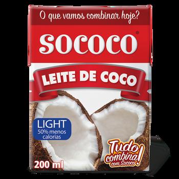 LEITE DE COCO LIGHT SOCOCO