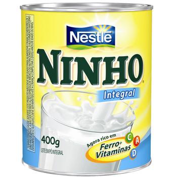LEITE EM PÓ NINHO INTEGRAL INSTANTÂNEO 360g