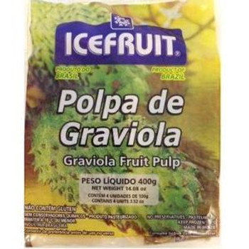 POLPA DE GRAVIOLA ICE FRUIT