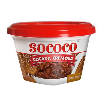 COCADA CREMOSA DE COCO QUEIMADO SOCOCO