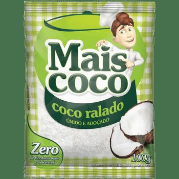 COCO RALADO UMIDO E ADOCADO MAIS COCO