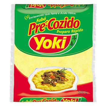 Fubá Pré Cozido YOKI Pacote 1kg