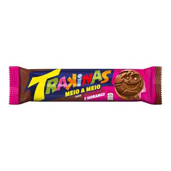 TRAKINAS CHOCOLATE COM MORANGO