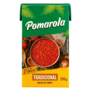 MOLHO DE TOMATE TRADICIONAL POMAROLA