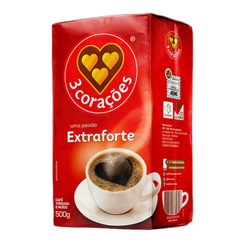 CAFE TRES CORACOES EXTRA FORTE