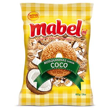 Biscoito MABEL Rosquinha de Coco Pacote 400g