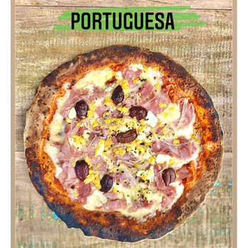 PIZZA PORTUGUESA THE DOUGHFELLAS