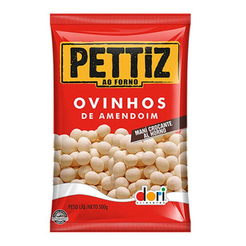 OVINHO DE AMENDOIM CROCANTE PETTIZ DORI