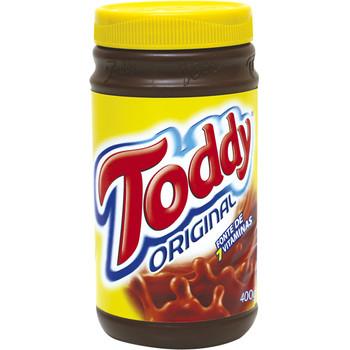Achocolatado em Pó Toddy Original Pote 400G, O Toddy É Um Dos Mais Tradicionais e Reconhecidos Achocolatados Do Mercado