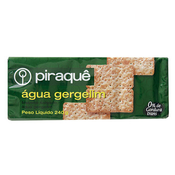 CREAM CRACKER GERGELIM PIRAQUE 200G