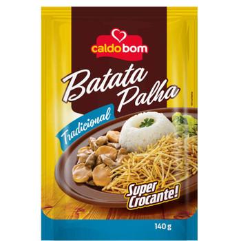 BATATA PALHA TRADICIONAL CALDO BOM 140G