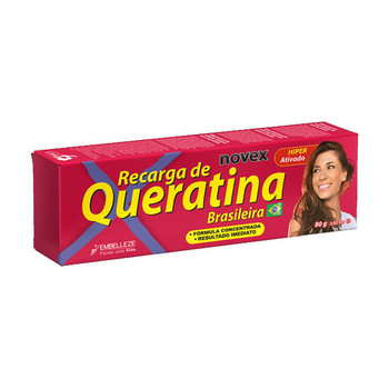 RECARGA DE QUERATINA NOVEX 80G