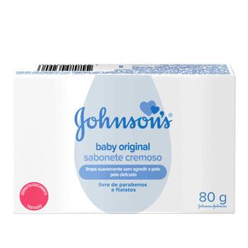SABONETE INFANTIL ORIGINAL JOHNSON'S 80G