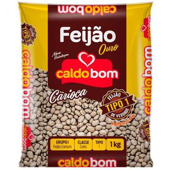 FEIJÃO CARIOCA CALDO BOM 1KG