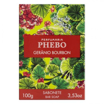SABONETE GERANIO BOURBON PHEBO 100G
