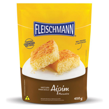 BOLO DE AIPIM FLEISCHMANN 450G
