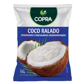 COCO RALADO SEM ADICAO DE ACUCAR COPRA 100G