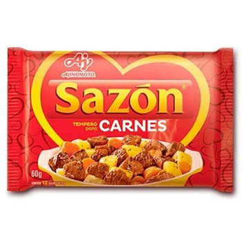 SAZON VERMELHO CARNES 60G