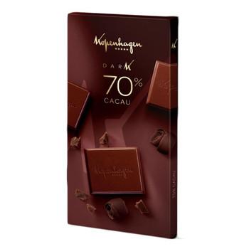 CHOCOLATE 70% KOPENHAGEN 100G