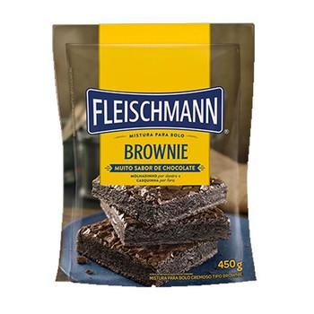 MISTURA PARA BROWNIE FLEISHMANN 450G