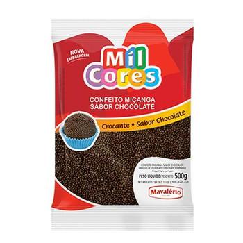 CONFEITO MICANGA DE CHOCOLATE MIL CORES 500G