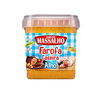 FAROFA CASEIRA ALHO MASSALHO 400G