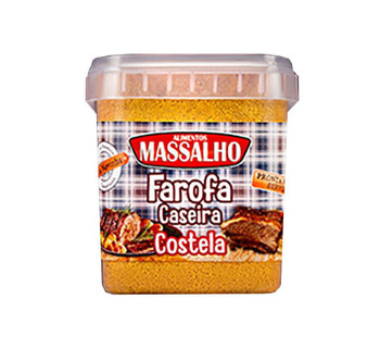 FAROFA CASEIRA COSTELA MASSALHO 400G