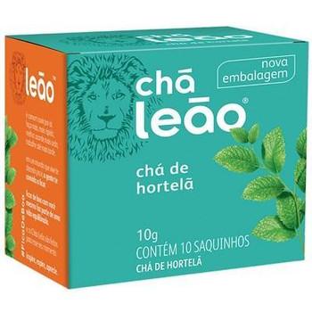 CHA DE HORTELA LEAO 10G