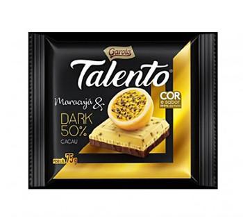 CHOCOLATE TALENTO DARK & MARACUJA 75GR