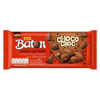 CHOCOLATE BATON CHOCO CROC GAROTO 90G