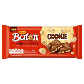 CHOCOLATE BATON COOKIE GAROTO 90G