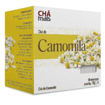 CHA DE CAMOMILA CHA MAIS 10G